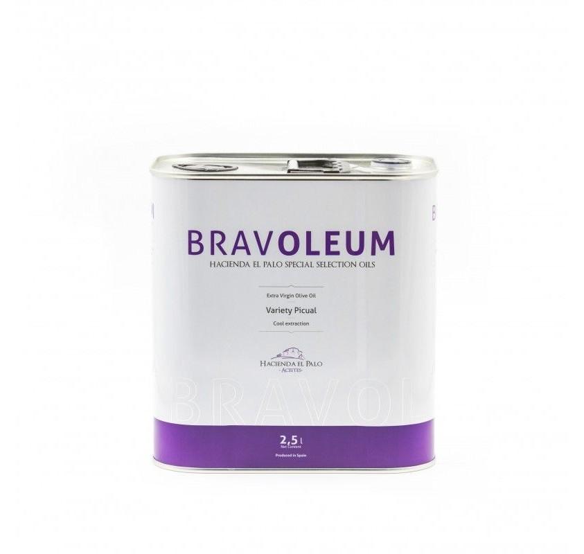 Bravoleum Picual 2,5 L (caja 4 uds)