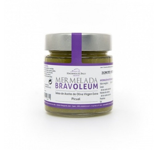 Mermelada de aove bravoleum picual 225 gr caja 12 uds