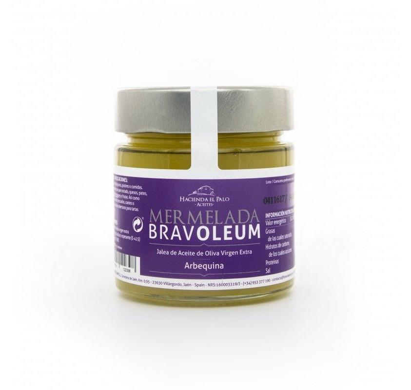 Mermelada de aove bravoleum arbequina 225g caja 12 uds