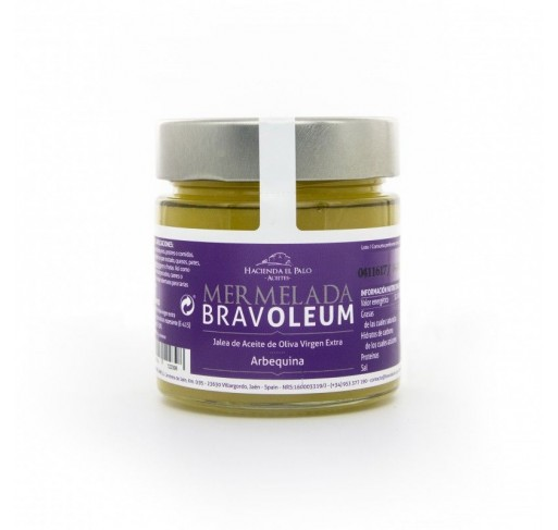 Mermelada de aove bravoleum arbequina 225 gr caja 12 uds