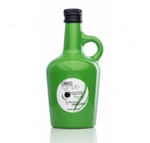 Oleocampo premium.Variedad arbequina. Jarra 500 ml. Caja 12 uds.