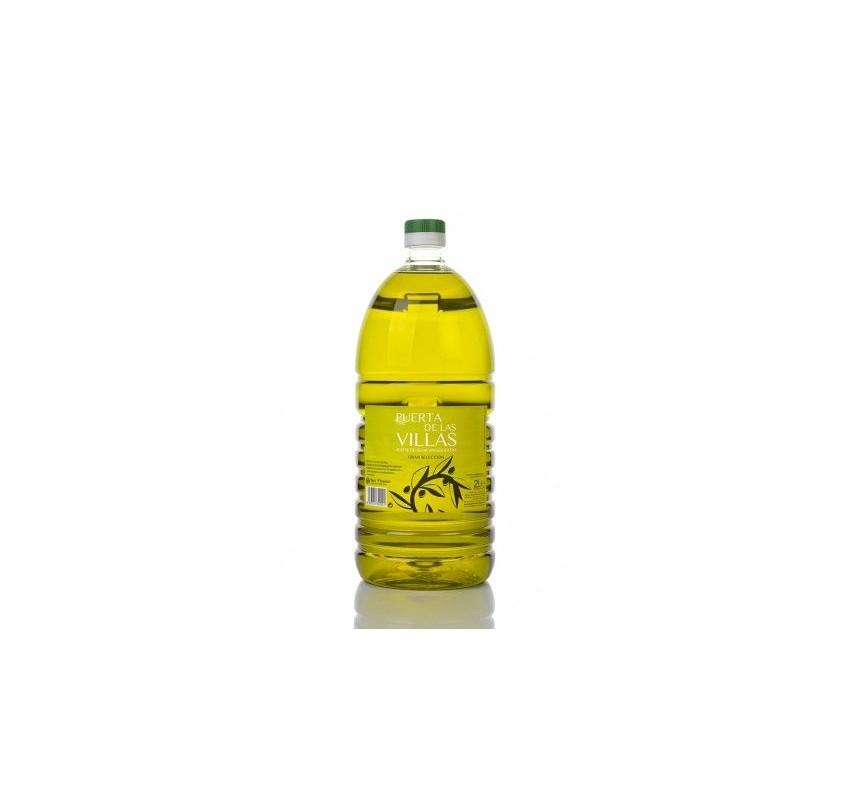 Puerta de las Villas. Aceite de oliva Picual. 2 litros
