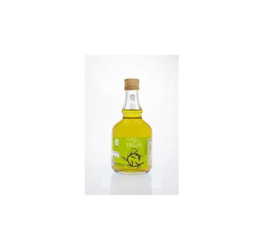 Aceite de Oliva Virgen Extra. Puerta de las Villas. Variedad Picual. Jarra 500 ml. Caja de 16 uds.