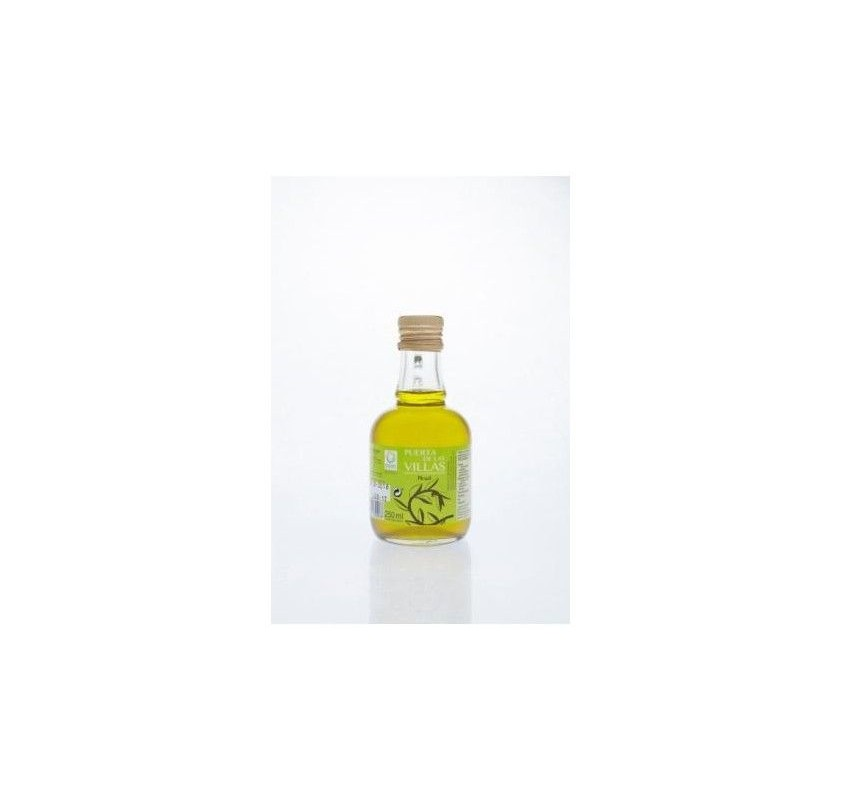 Extra virgin olive oil. Puerta de las Villas.16x250 ml glass jug