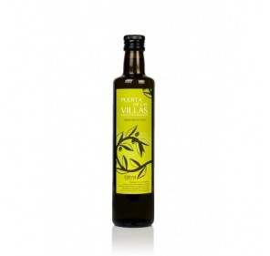 Extra virgin olive oil. Puerta de las Villas. Dorica bottle 500 mlX16
