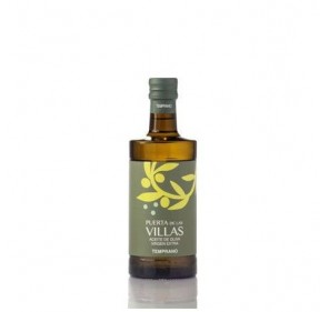 Extra virgin olive oil. Early harvest. Puerta de las Villas. Picual variety. 12X500 ml bottle glass Argos.
