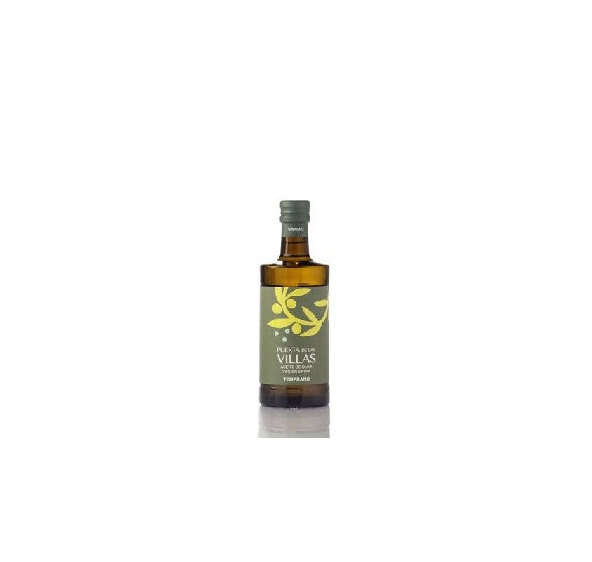 Extra virgin olive oil. Early harvest. Puerta de las Villas. Picual variety. 12X500 ml bottle glass Argos.