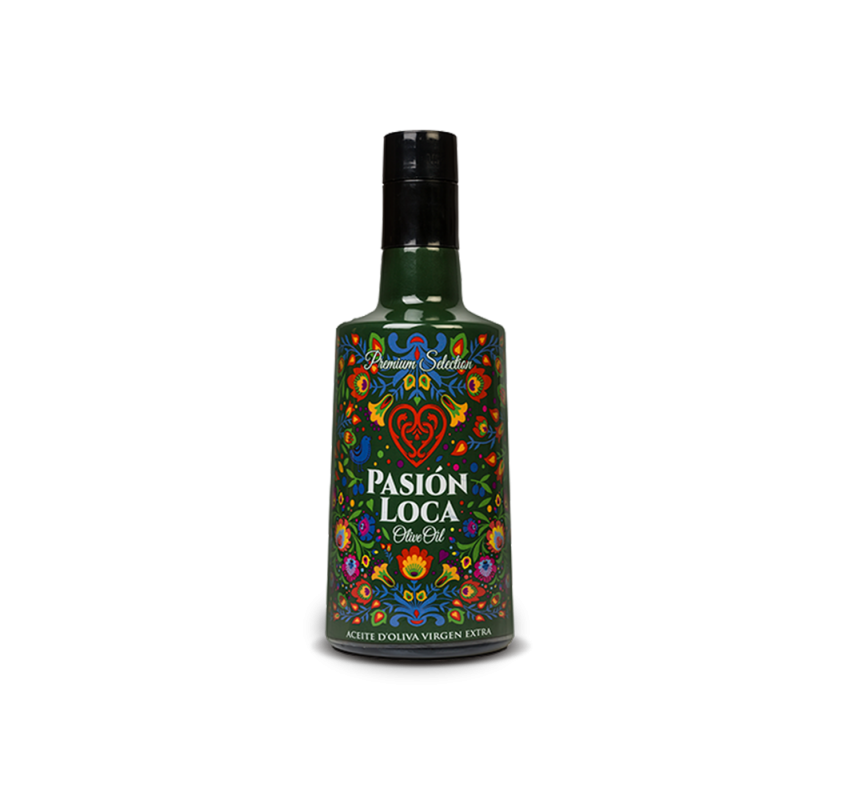 Pasion Loca Olive Extra Virgin Olive Oil. 6X500ml.