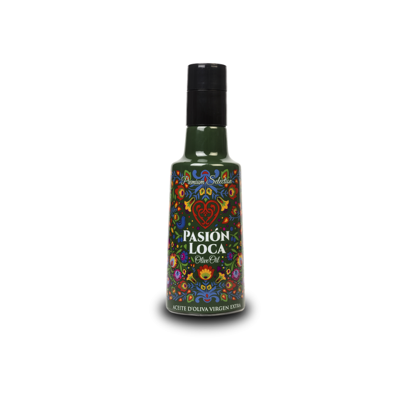 Pasion Loca Olive Extra Virgin Olive Oil. 12X250ml.