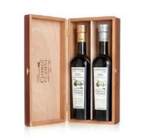 Extra virgin olive oil, Castillo de Canena. Family reserve. Oakwood box.