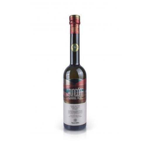 Rincón de la Subbetica. Aceite de oliva Ecológico Hojiblanca. 250 ml. Caja de 9 uds.