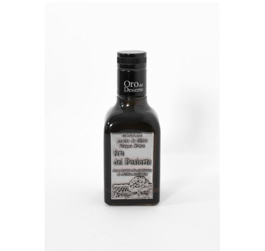 Oro del Desierto. Aceite de oliva Ecológico Coupage. 250 ml. Caja de 12 uds.