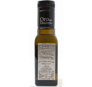 Oro del Desierto. Organic Olive oil from Coupage variety. 100 mlX24