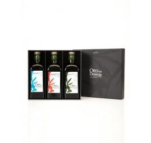 Oro del Desierto. Gift Box. 3 bottles 500ml X 5.
