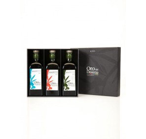 Oro del Desierto. Gift Box. 3 bottles 500ml X 5.