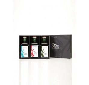 Oro del Desierto. Gift box. 3 bottles 500ml X10