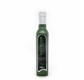 Bravoleum. Extra virgin olive oil. Frantoio variety. 250 mlX 12