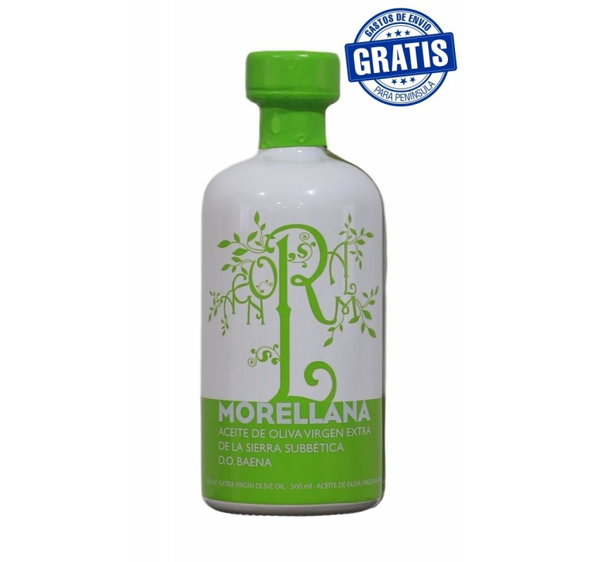 Morellana Hojiblanca. 500ml. Caja de 6 botellas