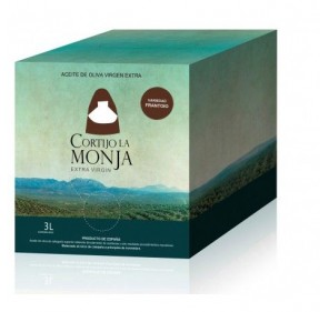 Cortijo la Monja. Arbequina Olive oil. 2 bottles of 3 liters