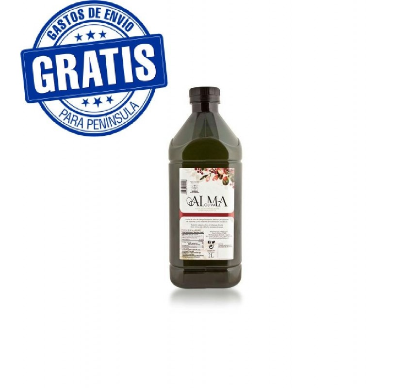 Extra virgin olive oil. Special gastronomy. Almaoliva. 2lX6.