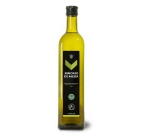 Señorío de Mesía. Aceite de oliva Picual. Botella de 750 ml. Caja de 12 unidades.