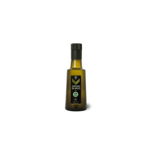Señorío de Mesía. Aceite de oliva Picual. Botella de 250ml. Caja de 15 botellas.