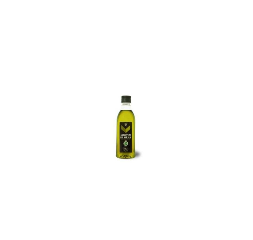 Señorío de Mesía. Aceite de oliva Picual. Caja de 24 unidades.