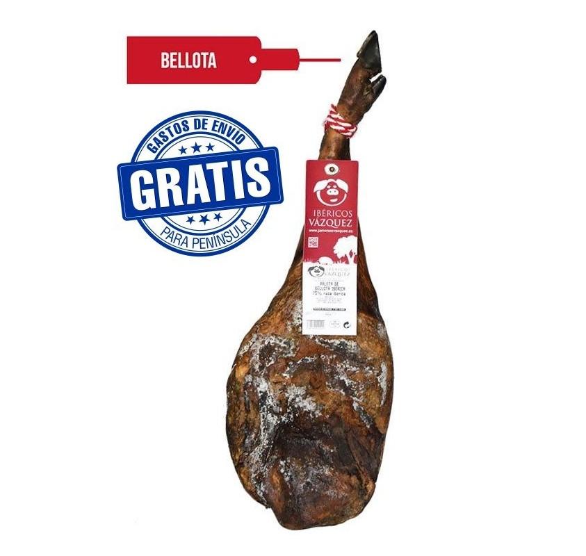 Paleta de bellota 50 % Ibérica