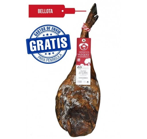 Paleta de bellota 50 % Ibérica. Ibéricos Vázquez.