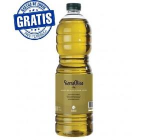 Sierra Oliva. EVOO. Picual variety. PET bottles.