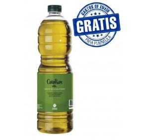 Coto Rios. Aceite de oliva Picual. 15 botellas de 1 Litro