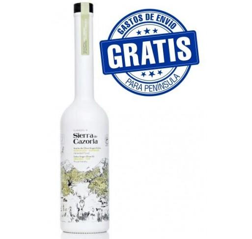 Sierra Cazorla. AOVE Ecológico. Botella de 500 ml. Caja de 6 unidades.