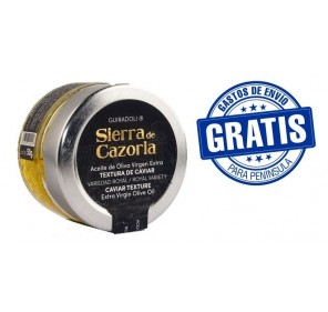 Caviar Sierra Cazorla. Jar 50 gr.Box of 15 jars.