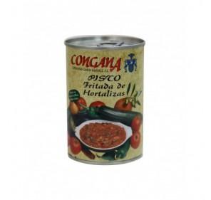 Ratatouille. Fritter of Vegetables