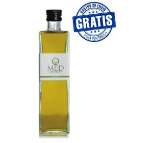 Omed Organic. Hojiblanca Olive oil. 500 ml bottle glass. Box of 9 bottles.