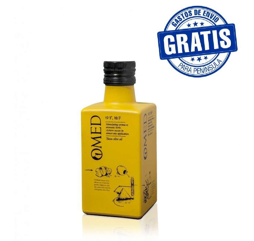 Omed Yuzu. Bottle of 250 ml. Box of 9 units.