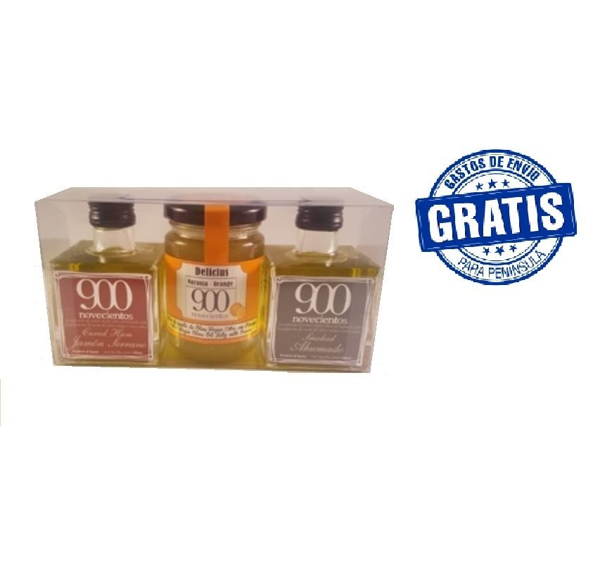 Pack 3 productos 900