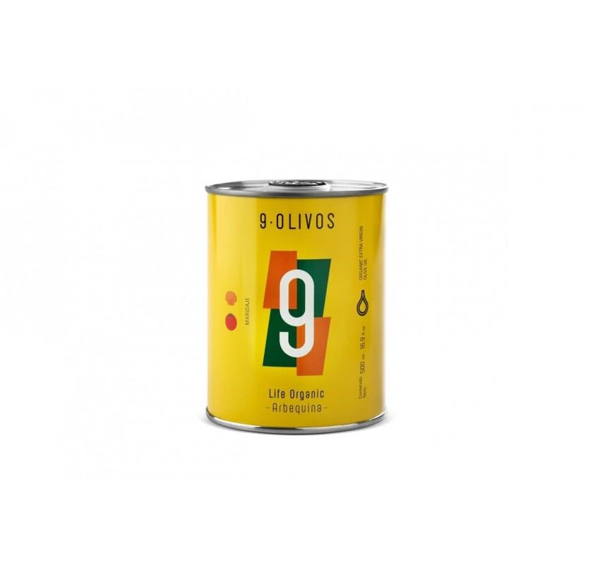9-Olivos Arbequina 500 ml