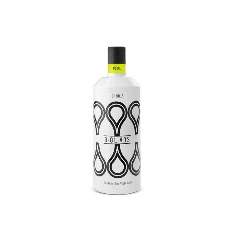 "9- Olivos. "" High Hills"" Picual 500 ml. Box of 6 bottles"