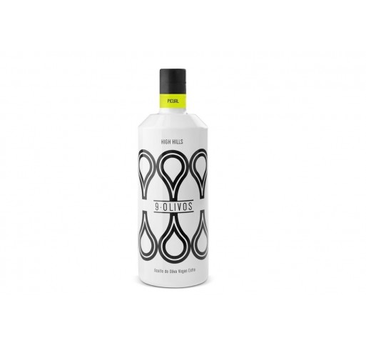 "9·Olivos. "" High Hills"" Picual 500 ml. Box of 6 bottles"