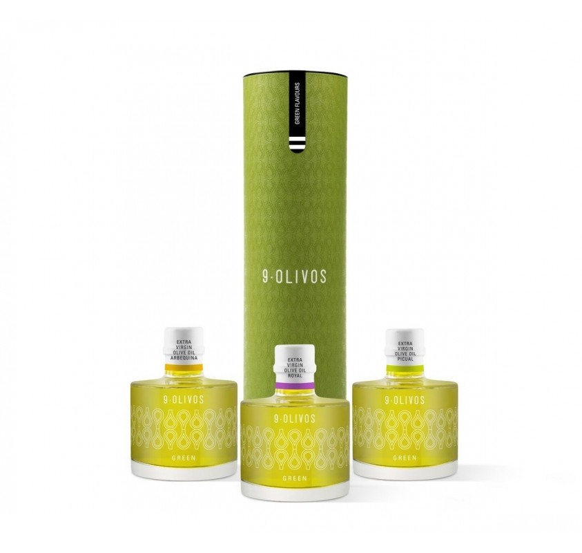Packs 9-Olivos Cata Green Flavours 3 x 200 ml