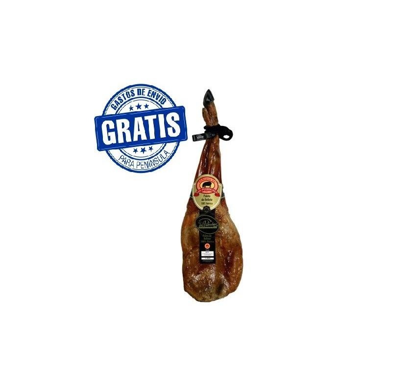 100% iberian bellota shoulder with the denomination of origin Los Pedroches