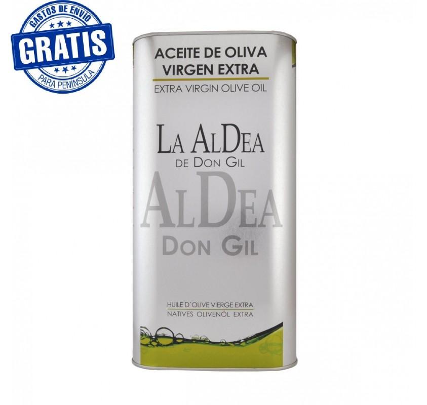 La Aldea de Don Gil, Caja de 2 latas de 5 L.