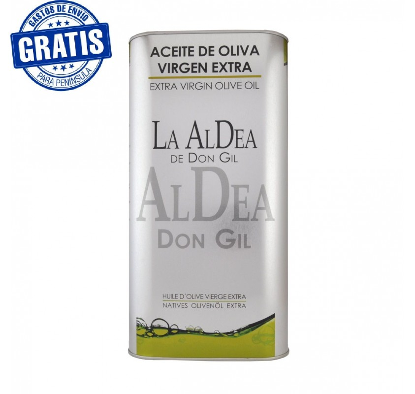 La Aldea de Don Gil. Can of 5 L