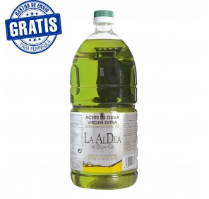 La Aldea de Don Gil, Box with 6 bottles extra virgin olive oil 2 liters
