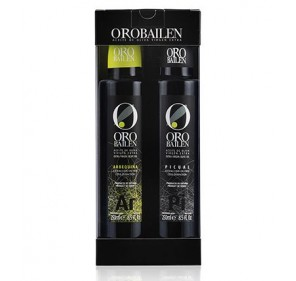 Oro Bailén Gift box 2 bottles of 250ml.