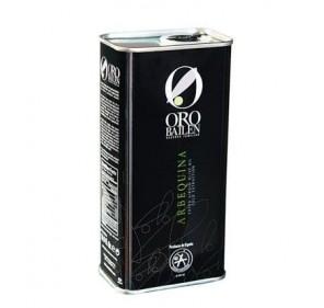Oro Bailen Family Reserve Arbequina. 500 ml Tin.