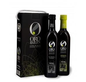 Gift Box Oro Bailén. 2 bottles 500 ml.