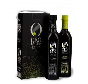 Gift Box Oro Bailén. 2 bottles 500 ml.