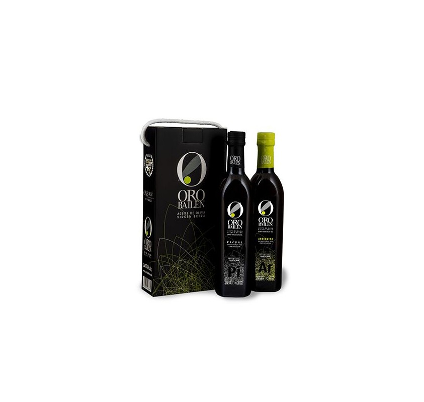 Gift box Oro Bailén Family Reserve. 750ml x 2